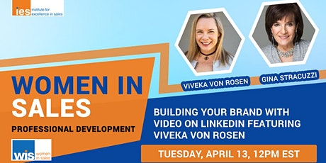 Women in Sales: Building Your Brand with Video on LinkedIn tickets