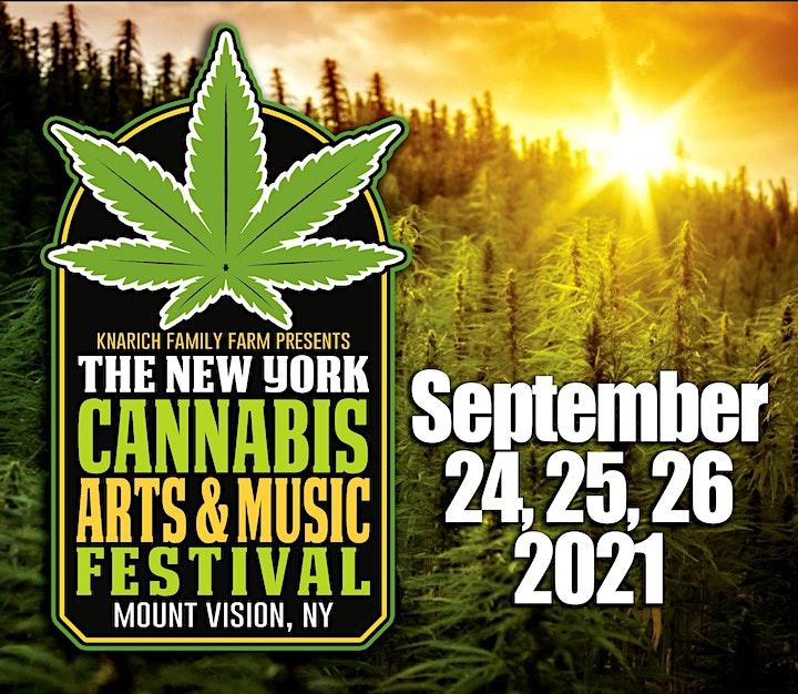 NY Cannabis Arts and Music Festival image