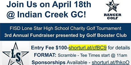 3rd Annual Frisco Lone Star High School Golf Tournament Fundraiser tickets