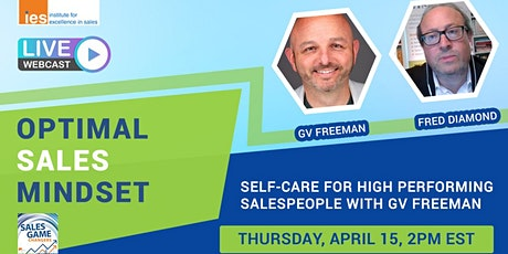 OPTIMAL SALES MINDSET: Self-Care for High Performing Salespeople tickets