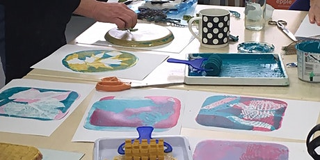 Monoprinting with Gelli Plates - Online Workshop tickets