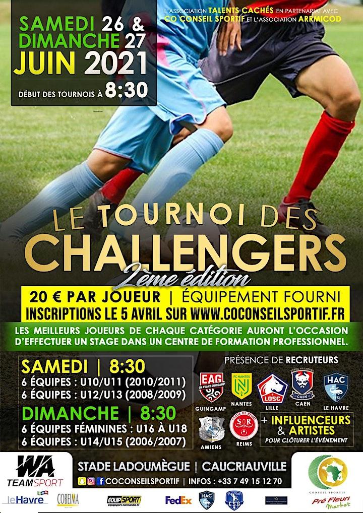 Image pour Le Tournoi des Challengers - 2ème édition