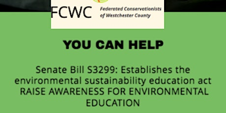 FCWC Student Network Forum on Environmental Education billets
