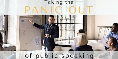 4 week Public Speaking Workshop - Toastmasters Speechcraft tickets