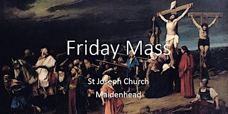 Book Online: Friday Mass (St Joseph) tickets