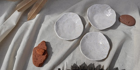 Pinch Pot Set- Ceramic workshop tickets