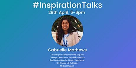 #InspirationTalks - Gabrielle Mathews tickets