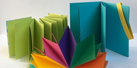 EXPERIMENTAL BOOKBINDING [ONLINE WORKSHOP] ingressos