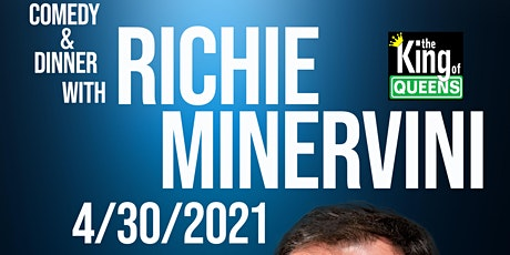 Comedy Dinner event with King of Queen Richie Minervini in PSL CNS COMEDY! tickets