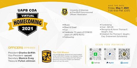 UAPB COA Virtual Homecoming tickets