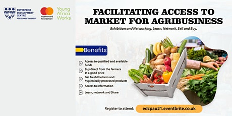 Access to Market Kaduna - Day 2: Agribusiness tickets
