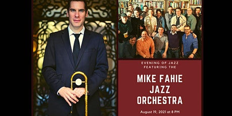 Virtual Ticket for Jazz featuring the Mike Fahie Jazz Orchestra tickets