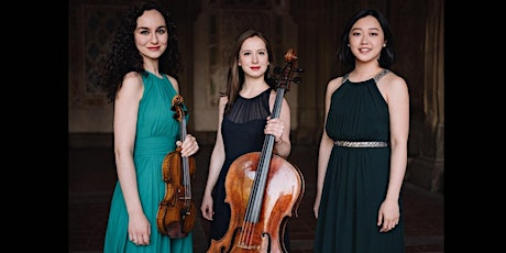 Virtual Ticket for Chamber Music featuring Aletheia Piano Trio tickets