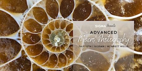 Sigma Presents - Advanced Macro Photography with Brett Wells! tickets