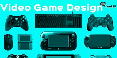 Design A Video Game - Half Day: 5th - 8th tickets