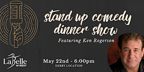 Stand Up Comedy Dinner Show with Ken Rogerson - LaBelle Derry tickets