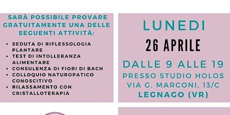 Open DAY di NATUROPATIA a Legnago VR il 26 Aprile 2021 biglietti