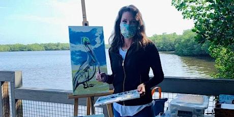 Paint a Spoonbill with Rachel Pierce @ 11:30 tickets