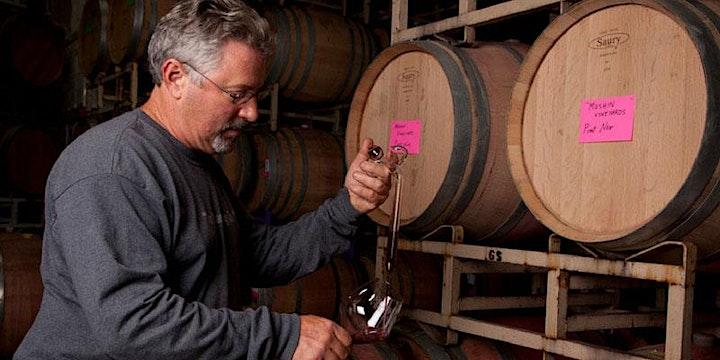 An Evening with Rick & Amber Moshin - Moshin Wines! 4/28 @ 7pm - $45-ZOOM! image