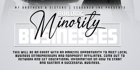 Building Minority Businesses tickets