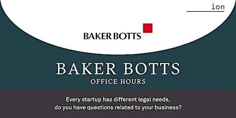 Baker Botts Office Hours tickets