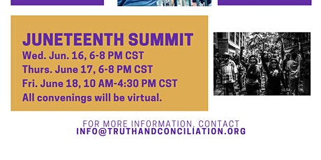 2021 Juneteenth Summit Tickets