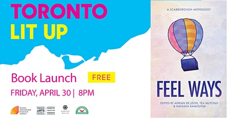 FEEL WAYS: A Scarborough Anthology Book Launch tickets