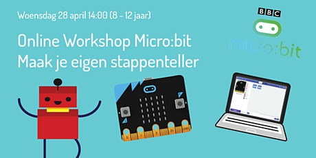 Workshop Micro:bit - Maak je eigen stappen teller (8 - 12 jaar) tickets