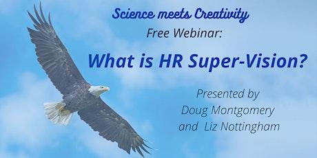 What is HR Super-Vision?   Free Taster  Webinar tickets