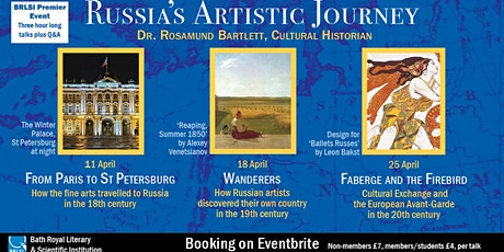 Russia's Artistic Journey- Wanderers: Russian artists in the 19th Century tickets