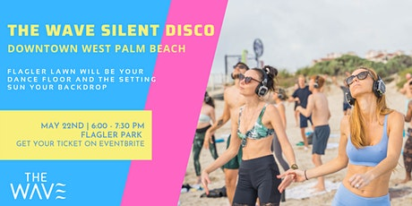 The  Wave Silent Disco  with Carolina Panoff | DOWNTOWN WEST PALM BEACH tickets