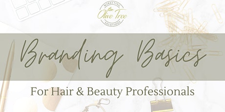 Branding Basics for Salons & Beauty Businesses - An Introduction to Canva tickets
