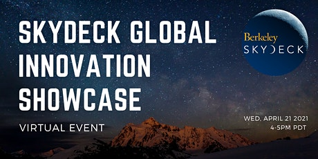 SkyDeck Global Innovation Showcase tickets