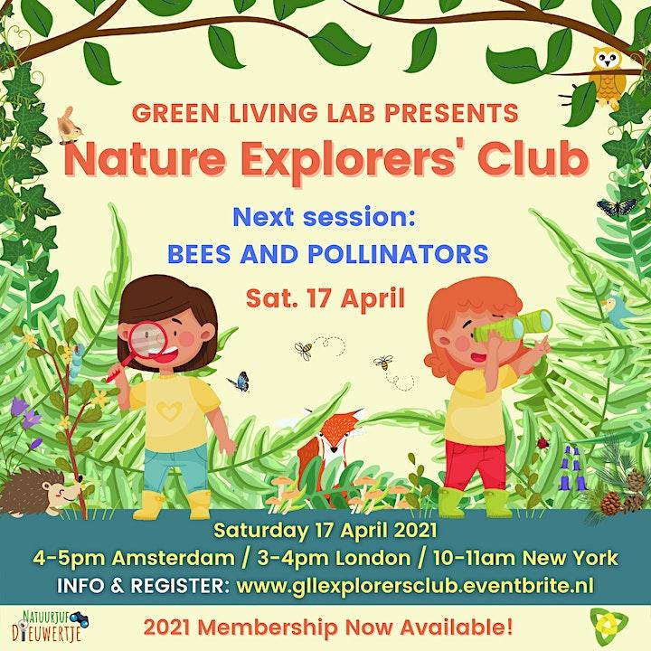 Nature Explorers' Club for Kids, 7-11 years // 3 Membership Options image