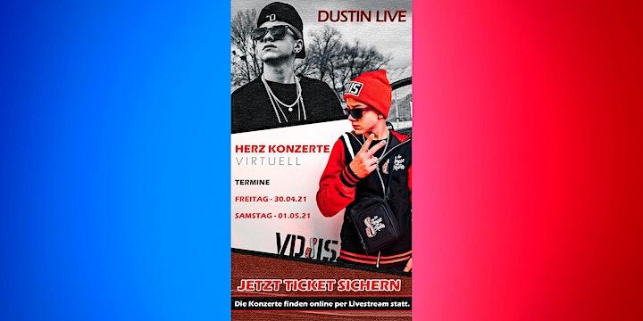 DUSTIN LIVE - Herz Konzerte virtuell: Bild