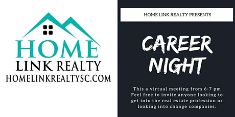 Career Night with Home Link Realty tickets