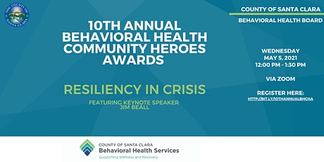 10th Annual Behavioral Health Community Heroes Awards tickets