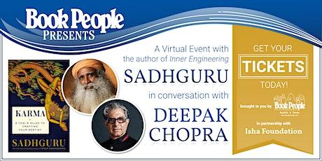 BookPeople & Isha Foundation Celebrate Sadhguru's 'Karma' tickets