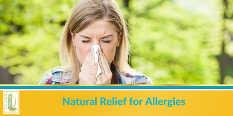 Natural Remedies for Allergies tickets