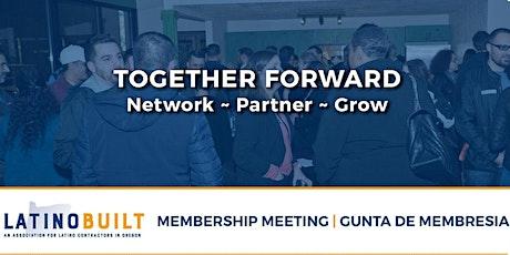 LatinoBuilt's 2nd Quarter Membership Meeting biglietti