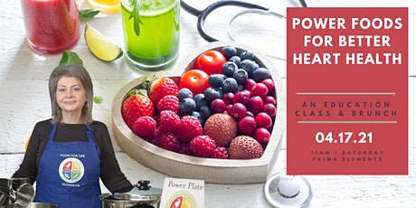 Power Foods for Heart Health tickets