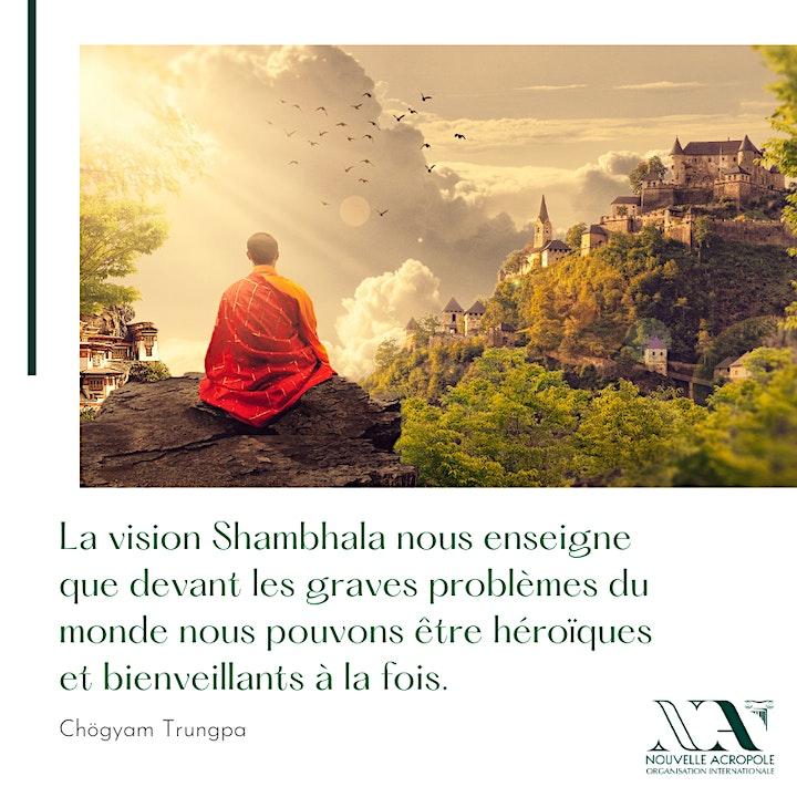 Image pour Conférence : Shambhala , la voie du guerrier