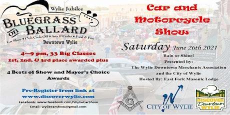 Bluegrass on Ballard Car Show tickets