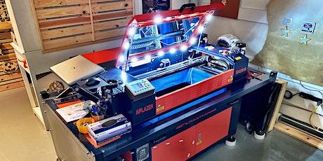 Laser Cutting - Half Day: 5th - 8th tickets