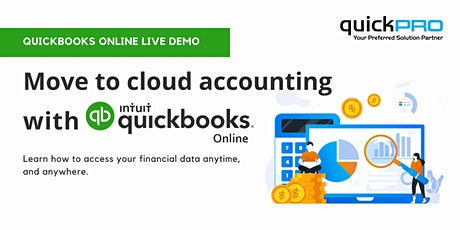 Move to Cloud Accounting with Intuit QuickBooks Online tickets