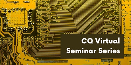 POSTPONED: CQ Seminar  - Talk by Dr. Josephine Wong tickets