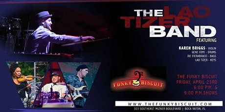 Lao Tizer Band Featuring Karen Briggs (9pm Show) tickets