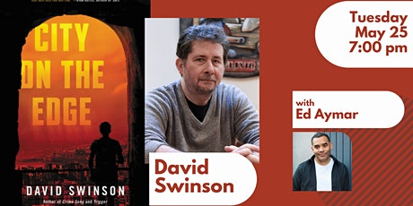 Book Launch with David Swinson for CITY ON THE EDGE tickets