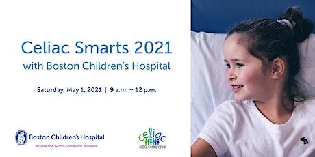 Celiac Smarts 2021 with Boston Children's Hospital tickets