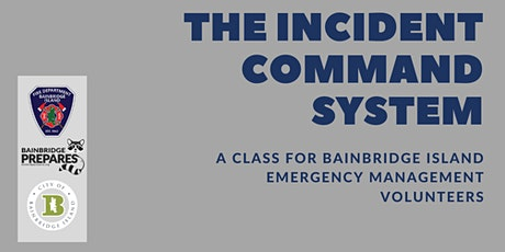 Online Event Series: The Incident Command System tickets